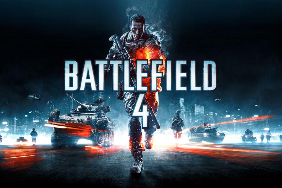 Portada del juego Battlefield 4.