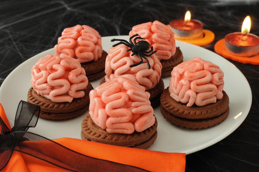 Cómo decorar las galletas de halloween. Decoraciones para las galletas de halloween. Ideas para decorar galletas en halloween