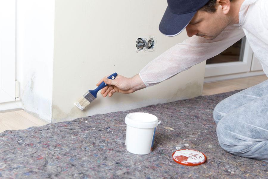 C mo pintar una pared con humedad - Manchas de humedad ...
