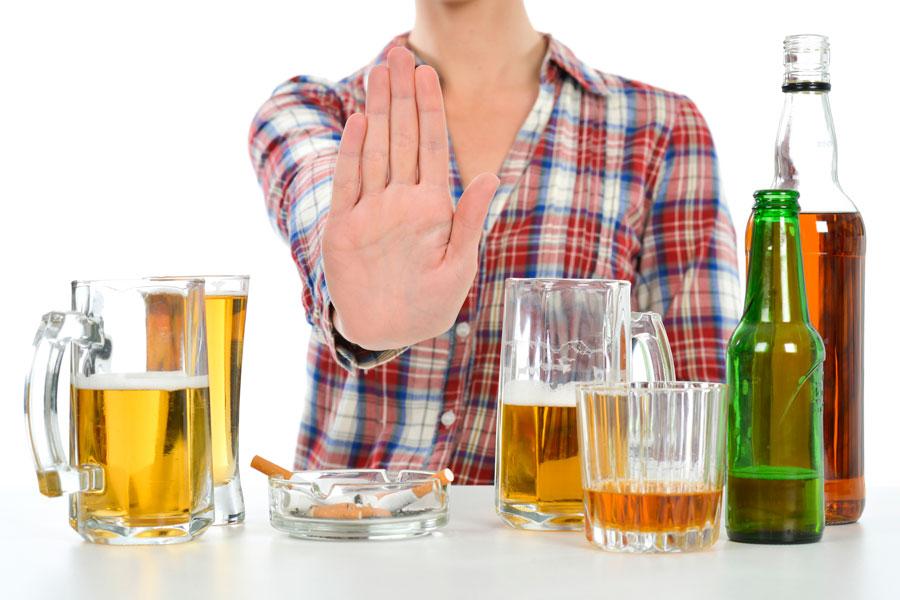 La estadística de las regiones por el alcoholismo